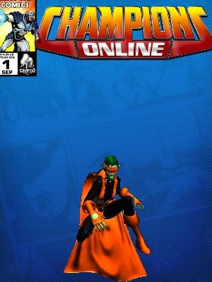 Costume Snitchcat NoName CC Comic Page Blue 330374428