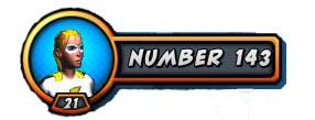 NUMBER 143 Logo
