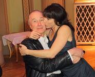Карлхайнц Хакль с женой