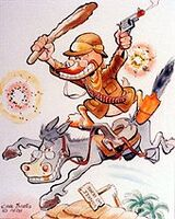 Carl Barks Teddy Goosevelt