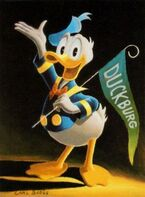 100- Hi, I'm Donald Duck
