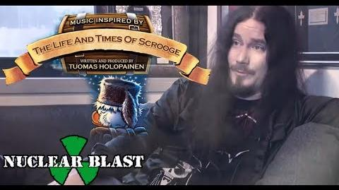 TUOMAS HOLOPAINEN - The Life and Times of Scrooge (OFFICIAL TRAILER)