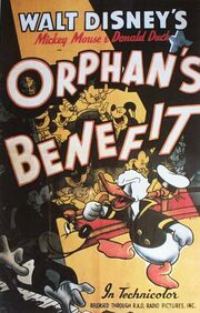 Orphan's benefit poster