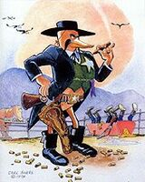 Carl Barks Sheriff of Tombstone