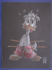 Disney - Donald Duck - Paolo Mottura