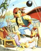 Carl Barks Captain Kidd the Pirate
