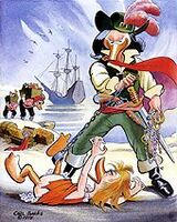 Carl Barks Henry Morgan, Buccaneer