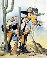 Carl Barks Tom Horn, Bounty Hunter