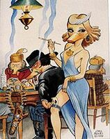 Carl Barks The Lady Known as Lou