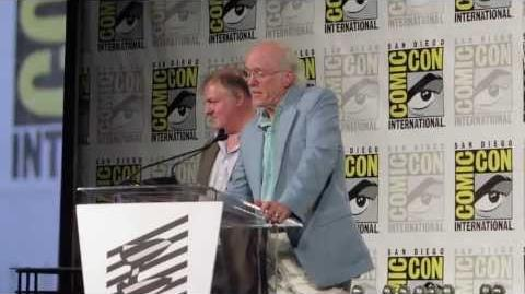 Don Rosa Receives the Bill Finger Award During Comic Con International 2013 in San Diego