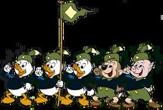 Jonge-woudlopers