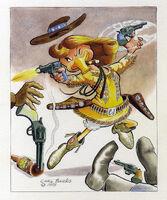 Carl Barks Calamity Jane
