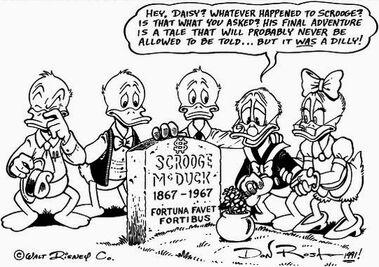 Uncle Scrooge's Death
