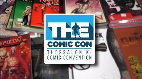 The Comic Con Thessaloniki - SA On The Spot