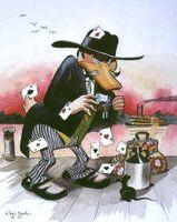Carl Barks Riverboat Gambler