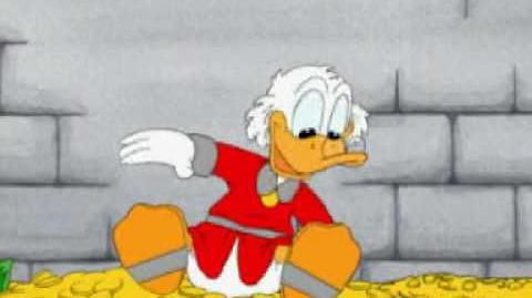 Uncle Scrooge - The Daily Money Swim