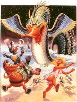 Carl Barks Loch Ness Monster