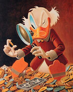 Scrooge mcduck the expert