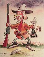 Carl Barks Buffalo Bill Cooty