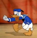 Donald Duck Mickey bienfaiteur