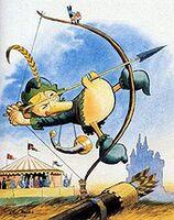 Carl Barks Robin Hood Super Archer