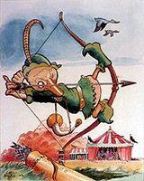 Carl Barks Robin Hood Duck