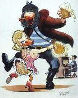 Carl Barks Belle of the Yukon