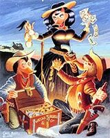 Carl Barks Belle Starr, Outlaw Queen