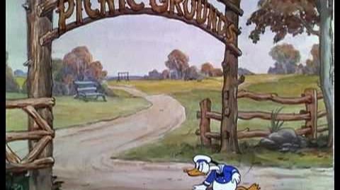 Mickey and Donald Cartoons - Orphan's Picnic 1936