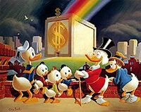 Scrooge-mcduck-carl-barks-rainbow-money-bin