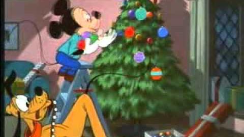 Pluto's Christmas Tree 1952) Walt Disney Cartoon Movie