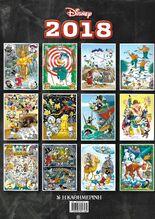 Disney 2018 Ημερολόγιο Οπισθ
