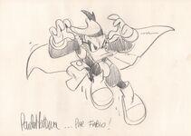 Mottura Paolo-Paperinik sketch