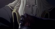 Castlevania anime Episode 7 Alucard tue Dracula