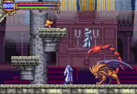 Castlevania Aria of Sorrow - Manticore