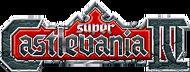 Super Castlevania IV Logo