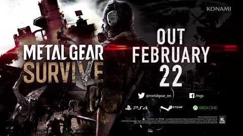 METAL GEAR SURVIVE Launch Trailer KONAMI (PEGI)