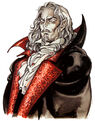 Castlevania Symphony of the Night (Dracula Artwork)