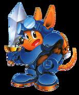 Sparkster (Rocket Knight Adventures Artwork 01)