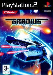 Gradius V (front cover PAL)