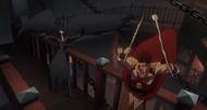 Castlevania anime episode 6 trevor VS les créatures de la nuit