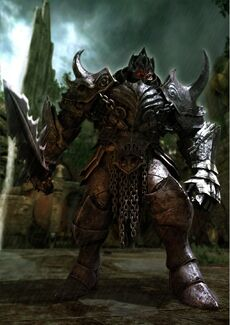Chevalier Noir-Castlevania Lords of Shadow 01