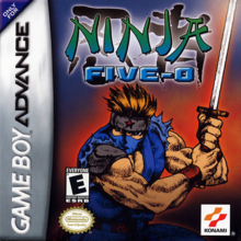 Ninja Five-O (Ninja Cop) Boxart US