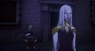 Castlevania Anime Episode 8 saison 2 Hector et Carmilla