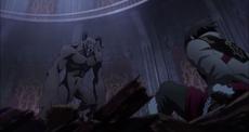 Castlevania anime episode 6 Trevor infobox