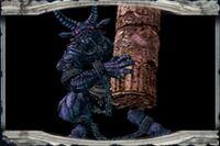 Minotaure-Castlevania Curse of Darkness