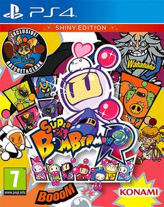 Super Bomberman R - PS4 Boxart (Shiny Edition) PAL