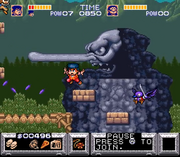 The Legend of the Mystical Ninja (screen 05)