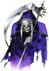 Castlevania Harmony of Dissonance (Death Artwork 01)