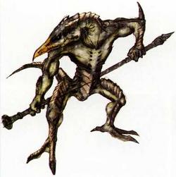 Slogra Castlevania Curse of Darkness Artwork